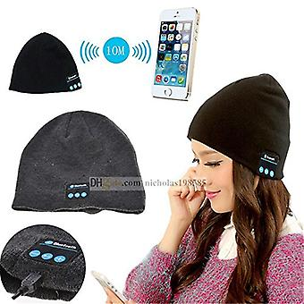 ONX3  (Black) Unisex One Size Winter Bluetooth Beanie Hat with Built-in Wireless Stereo Speaker Headphone For ZTE Nubia Z17 BlackBerry Keyone