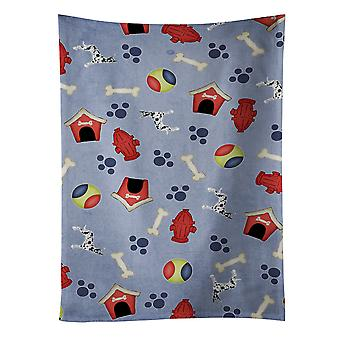 Dog House Collection Harlequin Cropped Great Dane Kitchen Towel