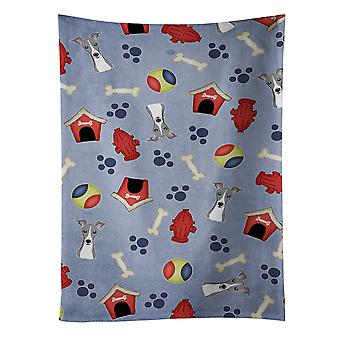 Dog House Collection Italian Greyhound Kitchen Towel