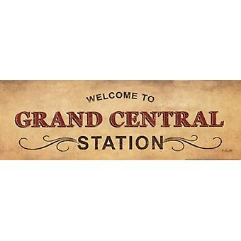Grand Central Station Poster Print by Lauren Rader (18 x 6)