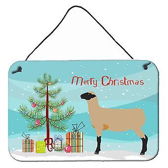 Hampshire Down Sheep Christmas Wall or Door Hanging Prints