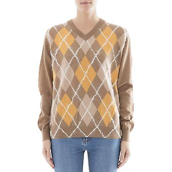Acne Studios Damen 19BC73CAMELCOMBO Braun Wolle Sweater
