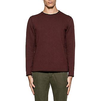 Become men's 51736612 Bordeaux red plastic sweater
