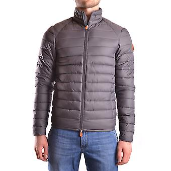 Save the duck men's MCBI269021O grey polyester Quilted Jacket