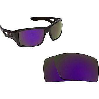 Eyepatch 2 Replacement Lenses Polarized Purple by SEEK fits OAKLEY Sunglasses