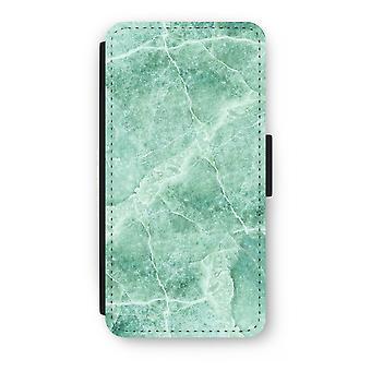 iPhone 8 Plus Flip Case - groen marmer