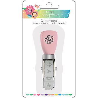 Amy Tan Sunshine & bons moments rotatif Stamp-icônes 345716