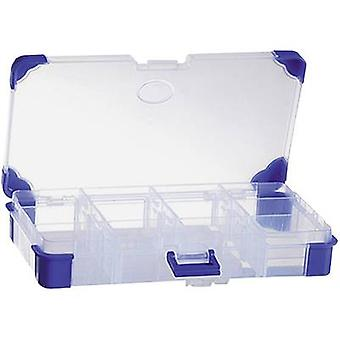 Assortment box (L x W x H) 165 x 90 x 30 mm VISO No. of compartments: 12 variable compartments