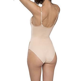 Maison Lejaby Bügeln 5552-145 Frauen neue Nuage Pur nackt Body Einteiler Body