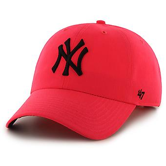 47 Brand New York Yankees Neon Clean Up Cap - Pink