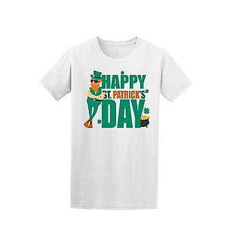 Hipster St Patrick's Day Treasure Chest Tee - Image by Shutterstock