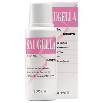 Saugella Ph neutral soap Poligyn 250 ml (Hygiene and health , Intimate hygiene , Soaps)
