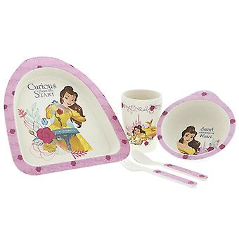 Disney Belle Organic Bamboo Dinner Set