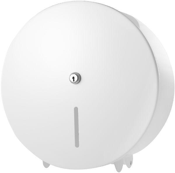 Pro Range White Metal Jumbo 12 Toilet Roll Dispenser