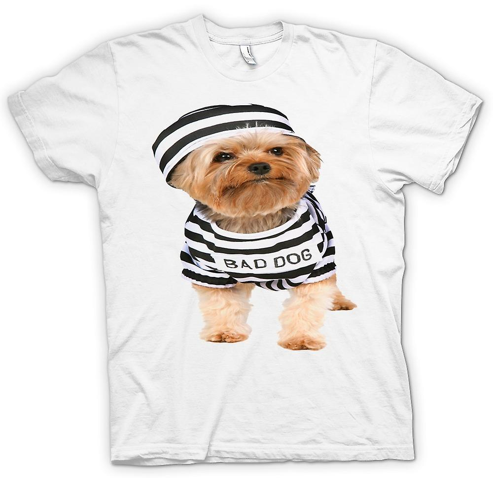Heren T-shirt - Yorkshire Terrier - Bad Dog