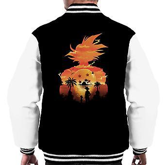 Dragon Ball Z Namek solnedgang menn Varsity jakke