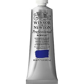 Winsor & Newton professionella akryl 60ml - 672 Ultramarin violett (S2)