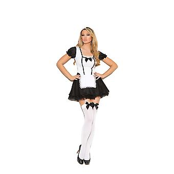 Elegant Moments Womens Michievious French Maid Halloween Roleplay Costume