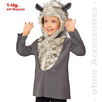 Wolf costume, Wolf shirt Hoodie kids Isegrim child costume