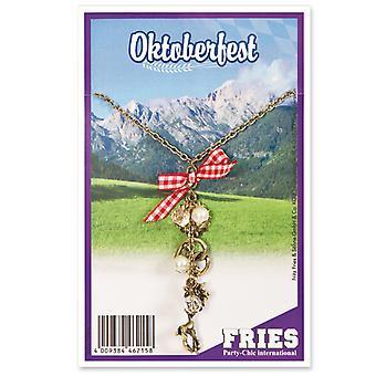 Collana di gioielli Dirndl di Oktoberfest