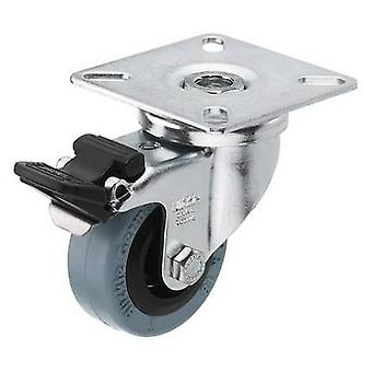 Swivel wheel 1 pc(s) Monacor GCB-50B 50 mm Load ca