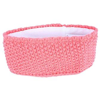 Redlinch Crochet Knit Headband - Coral