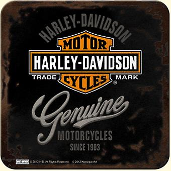 Harley Davidson oryginalne napoje (czarny) Mat / Coaster