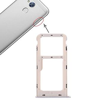 For Huawei honor 6A cards Halter SIM tray slide holder silver replacement new