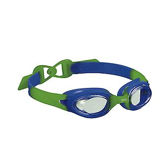 BECO Accra Junior Swimming Goggle - Clear Lenses - Blue/Green Frame