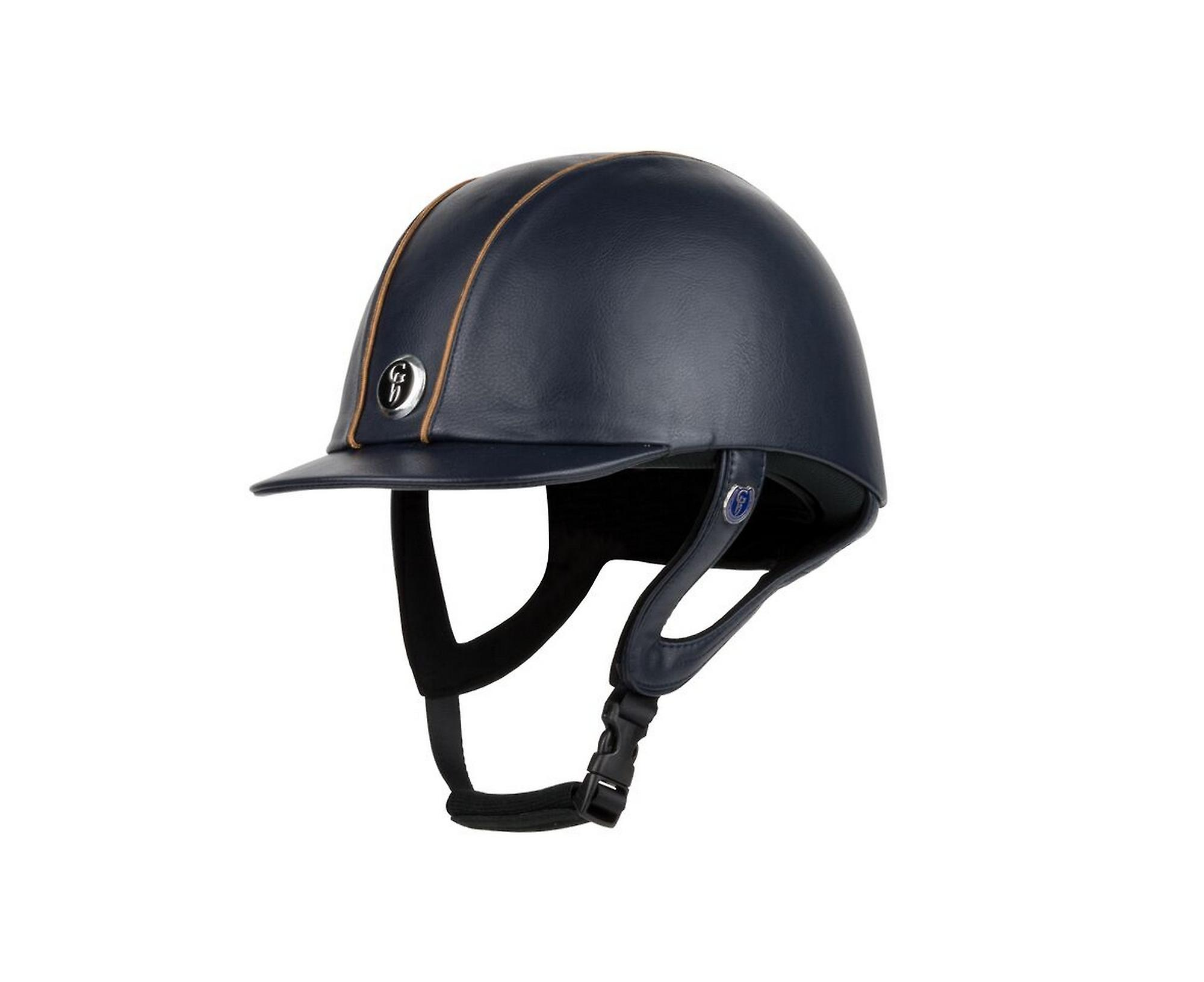 Gatehouse Jeunesse Leather Riding Hat