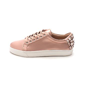 INC International Concepts Womens Saiyaf Fabric Low Top Lace Up Fashion Sneak...