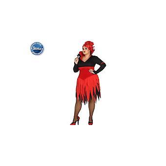Costumes femme femmes Halloween robe diable Vampiresse
