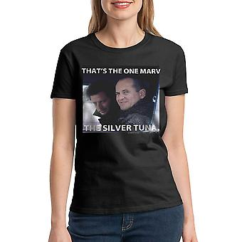 Home Alone That's The One Marv Quote Women's Black T-shirt