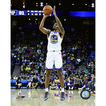 Jacob Evans 2018-19 Action Photo Print