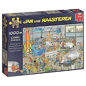 Jumbo jigsaw puzzle 1000pc JvH Delights
