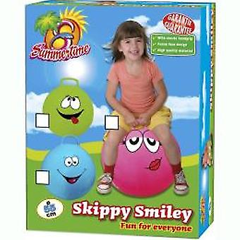 Summertime Skippy Ball Smile 55 cm