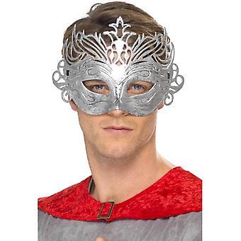 Smiffy van Columbine zilveren masker