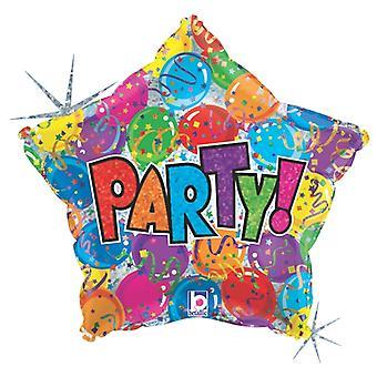 Folieballong PartyStar 48 cm (19