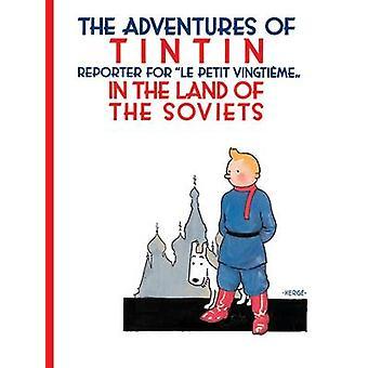 Tintin nel paese dei Soviet di Herge - 9781405266512 libro
