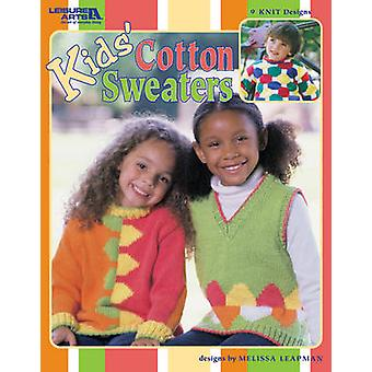 Kids' Cotton Sweaters by Melissa Leapman - 9781609008048 Book