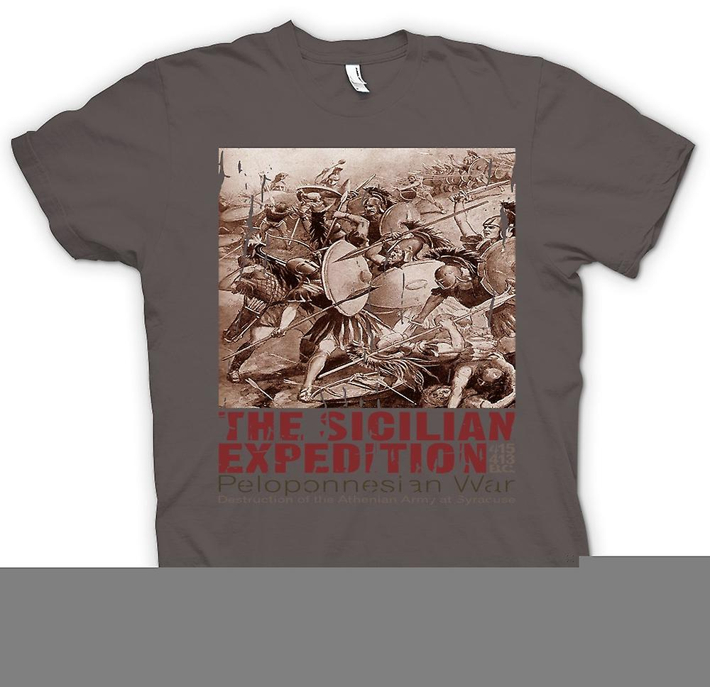 Womens T-shirt - The Peloponnesian War - The Sicilian Expedition - Sparta