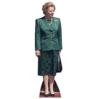 Margaret Thatcher - Lifesize Karton Ausschnitt / f