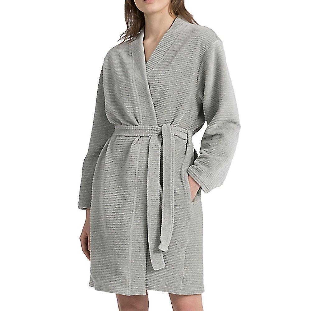 Calvin Klein Calvin Klein JD gesteppte Robe, grau, Mittel - groß