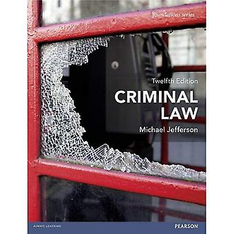 Criminal Law (Foundation Studies in Law Series)