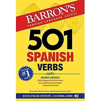 501 Spanish Verbs (501 Verb) (Barron's foreign language verbs)