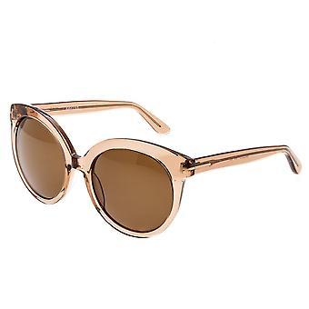 Bertha Violet Polarized Sunglasses - Rose/Brown
