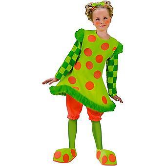 Funny Clown Kids Costume