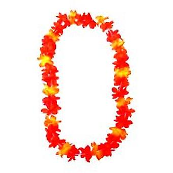 Hawaiian Flower setosa Lei - Neon Orange