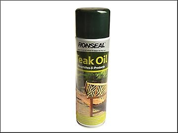 Ronseal Teak Oil Aerosol 500ml