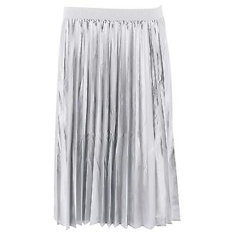 P.a.r.o.s.h. Parking Silver Polyester Skirt
